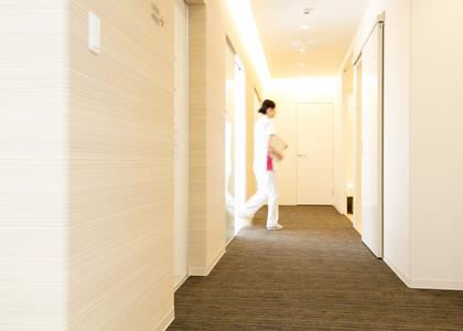 診療室通路イメージ